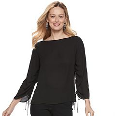 Women's Apt. 9® Ruched Georgette Top