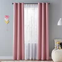 SONOMA Goods for Life™ Kids Solid Blackout 2-pack Window Curtains