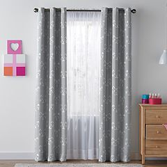 SONOMA Goods for Life™ Kids Cat Blackout 2-pack Window Curtains