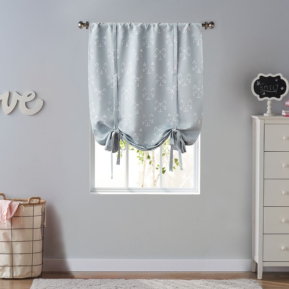 SONOMA Goods for Life® Kids Cat Blackout Tie-up Shade
