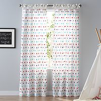SONOMA Goods for Life™ Carnival Dot 2-pack Window Curtains