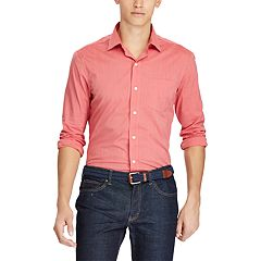 Men's Chaps Classic-Fit Stretch Easy-Care Woven Button-Down Shirt
