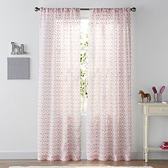 SONOMA Goods for Life™ Kids Sheer Trellis 2-pack Window Curtains