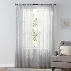 SONOMA Goods for Life™ Kids Stripe & Tassel 2-pack Window Curtains