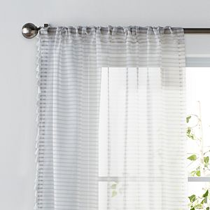 SONOMA Goods for Life® Kids Stripe & Tassel 2-pack Window Curtains