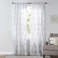 SONOMA Goods for Life™ Kids Ruffle 2-pack Window Curtains