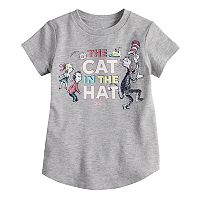 Toddler Girl Jumping Beans® Dr. Suess' The Cat In The Hat Glitter Graphic Tee