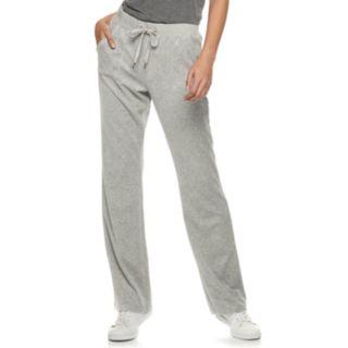 Women's Juicy Couture Velour Midrise Bootcut Pants