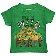 Toddler Boy Teenage Mutant Ninja Turtles 'Life of the Pizza Party' Graphic Tee