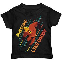 Disney / Pixar The Incredibles Toddler Boy 'Awesome Like Daddy' Graphic Tee