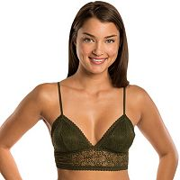 Juniors' Candie's® Bras: Triangle Lace Bralette