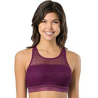 Juniors' SO® Bras: Lace High Neck Bralette