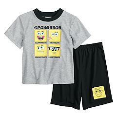 Boys 4-10 SpongeBob SquarePants 2-Piece Pajamas
