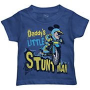 Disney's Mickey Mouse Toddler Boy  'Daddy's Little Stunt Man' Graphic Tee
