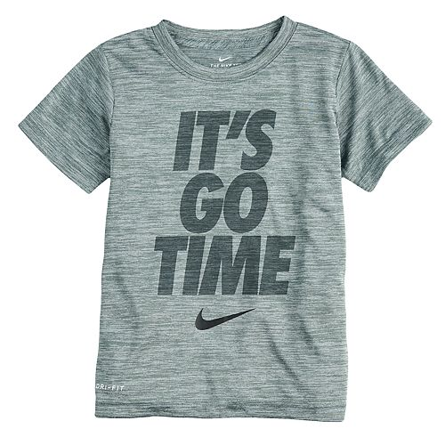 """Boys 4-7 Nike Dri-FIT """"It's Go Time"""" Graphic Tee"""