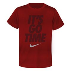 Boys 4-7 Nike Dri-FIT 'It's Go Time' Graphic Tee