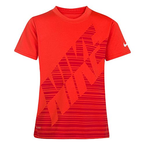 Boys 4-7 Nike Linear Colorblock Graphic Tee