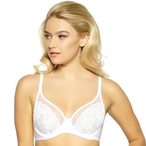 Apt. 9® Bras: Unlined Full-Figure Lace Tulle Bra