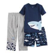 Baby Boy Carter's 3-pc. Sharks Pajama Set