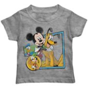 Disney's Mickey Mouse Toddler Boy Mickey Mouse & Pluto Character Graphic Tee