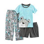 Baby Boy Carter's 3 pc Dogs Pajama Set