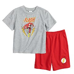 Boys 4-10 The Flash 2 pc Pajama Set