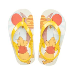 Disney's Winnie the Pooh Toddler Thong Flip Flop Sandals