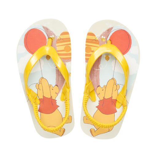 Disney's Winnie the Pooh Toddler Thong Flip Flop Sandals
