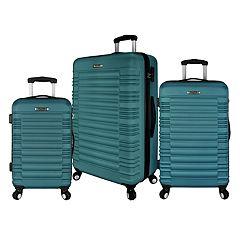 Elite Luggage Tustin 3-Piece Hardside Spinner Luggage Set