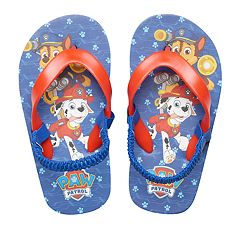 Toddler Boy Paw Patrol Chase & Marshall Thong Flip Flop Sandals