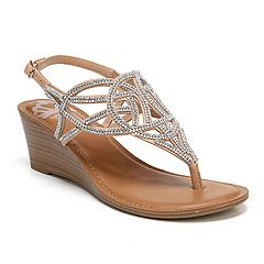 Fergalicious Charity Women's Wedge Sandals