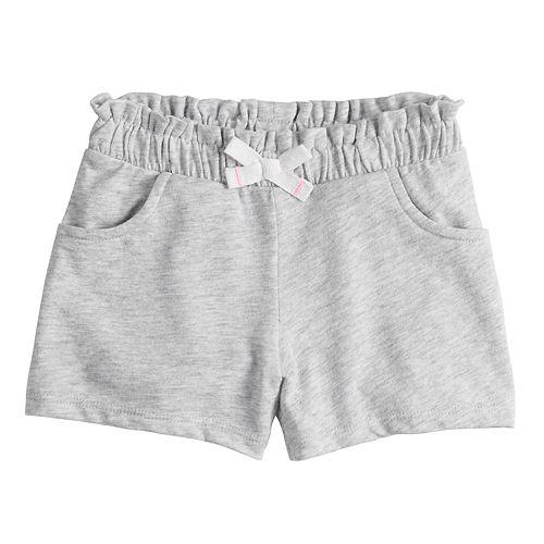 Toddler Girl Jumping Beans® Gathered Knit Shorts