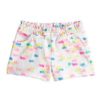 Toddler Girl Jumping Beans® Patterned Gathered Knit Shorts