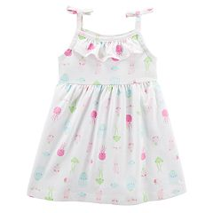 Baby Girl Carter's Jellyfish Pattern Dress