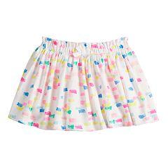 Toddler Girl Jumping Beans® Printed Cinched Skort