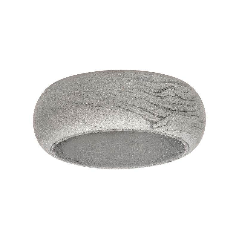 Silicone Ring, Women's, Size: 12, Silver