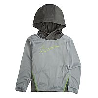 Boys 4-7 Nike Dri-FIT Pullover Logo Hoodie