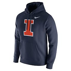 Men's Nike Illinois Fighting Illini Club Fleece Hoodie
