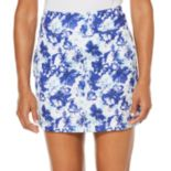Women's Grand Slam Stained Glass Floral Print Golf Skort