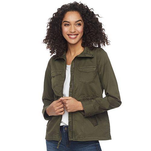 fb63b0cdc9bf9 Women s SONOMA Goods for Life™ Utility Jacket