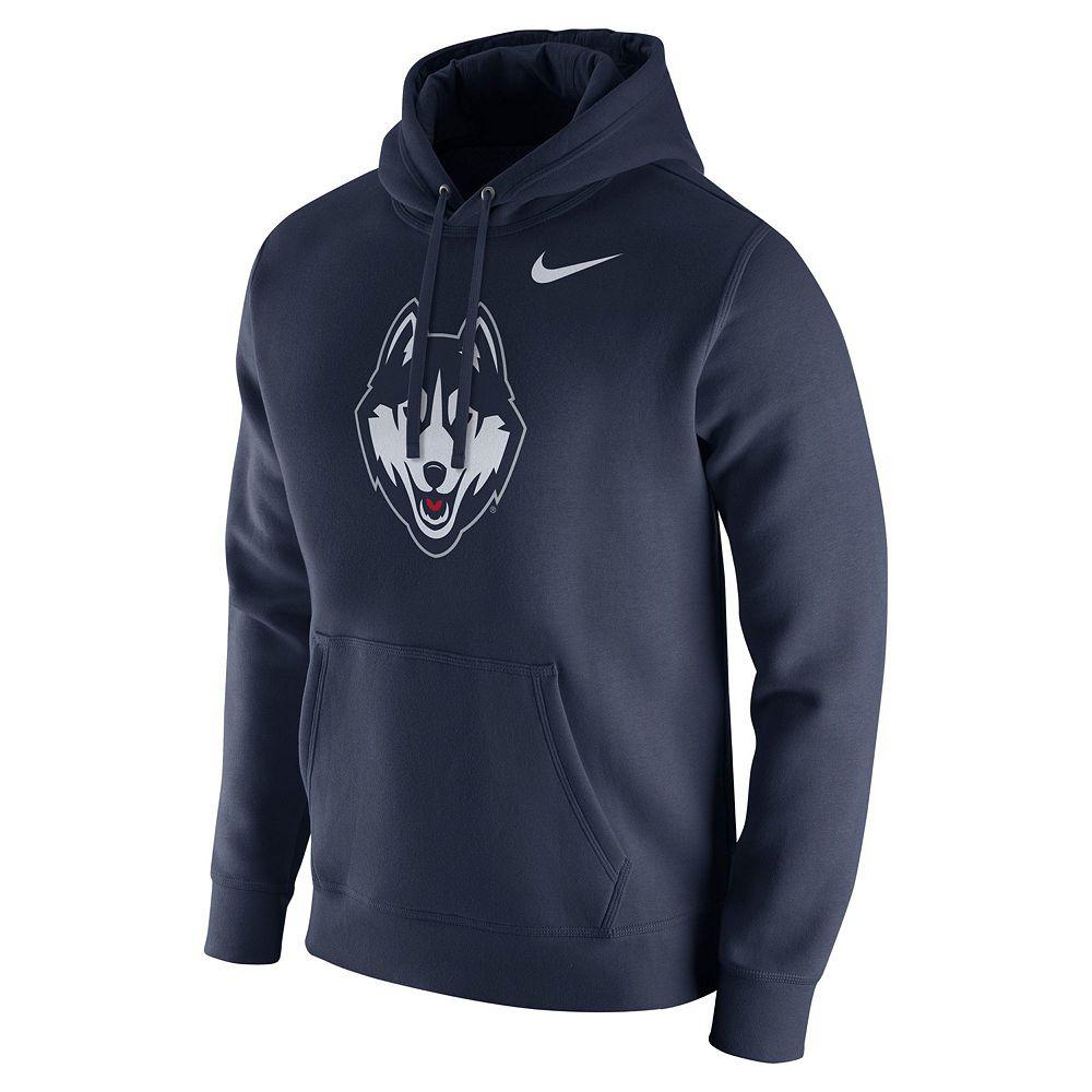 Men's Nike UConn Huskies Club Fleece Hoodie
