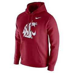 Men's Nike Washington State Cougars Club Fleece Hoodie