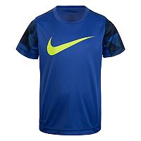 Boys 4-7 Nike Dri-FIT Abstract Logo Tee