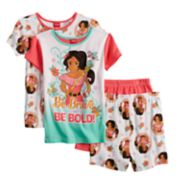 Disney's Elena of Avalor Girls 4-10 Top & Shorts Pajama Set