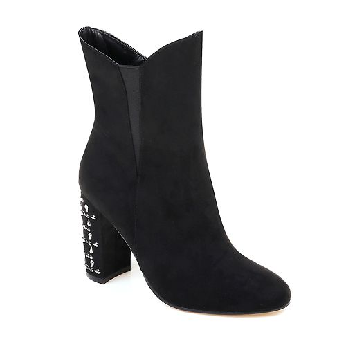 American Glamour by Badgley ... Mischka Ada Women's High Heel Boots R8LVQW