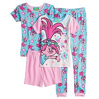 Girls 4-10 DreamWorks Trolls Poppy Tops & Bottoms Pajama Set