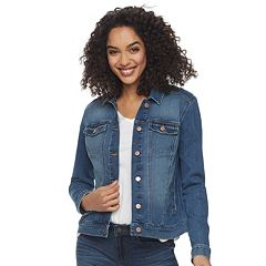 eb5999d2e9e14 Women s SONOMA Goods for Life™ Jean Jacket. Dark Wash Medium Wash ...
