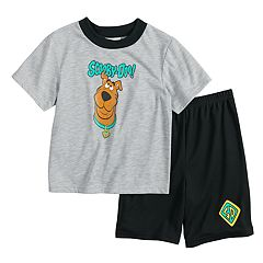 Boys 4-10 Scooby Doo 2-Piece Pajama Set