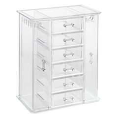 Richards Clearly Chic 6-Drawer Jewelry Organizer