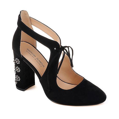 American Glamour by Badgley ... Mischka Abigail Women's High Heels CS65yac1